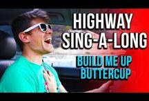 Cute guy singing!