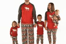 Winter PJ's For the Whole Family / You'll family will enjoy snuggling up and staying stylish and warm all winter long.