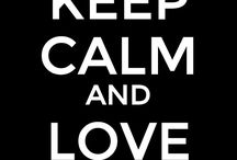 KEEPING CALM !!!!