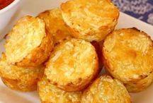 muffinky slané