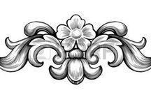 motifs baroque