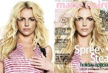 Photoshopped... / Celebs photoshopped - good or bad, before and after