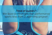 GIVEAWAYS! Dragonwing girlgear giveaways! / Dragonwing girlgear loves to do giveaways! Check out: http://www.dragonwinggirl.com for more information!