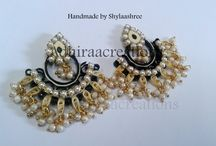 Quilled earring designs / Quilled earrings