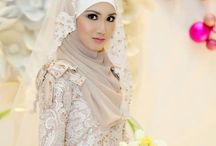 Wedding Gown/Hijab