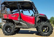 Honda Pioneer 1000 Lift Kit Pictures | Side by Side ATV / UTV / SxS / 4x4 Utility Vehicle / Custom 2016 Pioneer 1000 Lifted with Bigger Tires & Wheels | UTV / Side by Side ATV Reviews, Pictures, Videos + More at www.HondaProKevin.com