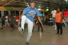 PRAISE / moving and shaking and actually giving our all through dance to our God