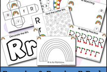 Learning the letter R / Learning the letter R. Alphabet letter of the week. / by ToodleLife