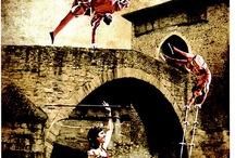 Balmaseda Mercado Medieval / Balmaseda celebra en Mayo su particular Mercado Medieval, uno de los mejores que se pueden observar a lo largo de la geografía española.  El Casco Histórico se viste de gala para la ocasión, y los vecinos de la villa participan en numerosos espectaculos y actuaciones abiertos al numeroso público, que durante ese fin de semana abarrota las calles balmasedanas.