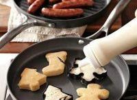 kerst familie kok