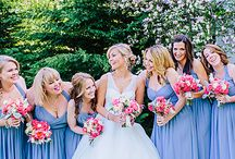 wedding / periwinkle and white spring wedding. / by Alex Hindenlang