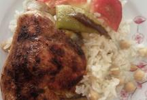 pilavlar,tavuk yemekleri