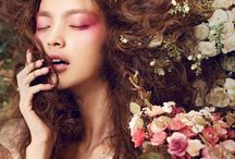 flower make-up