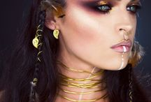 fantasy tribal makeup