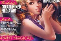 ART: magazines & books