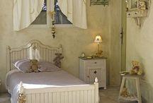 Miniature bedroom.