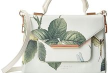 Ted Baker Handbags / Ted Baker's unique and inimitable style is timeless and beyond comparison. Take a trip through his eternally inspiring looks, colors and originality, lose yourself inside his mini adventurous collections!