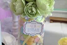 Ice cream candy buffet bar / Soft pastel candy bar from www.thesweettreatco.com