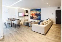 Home Flooring / A convenient solution for the floors of your home. Skema's choice for interior spaces offers: OXIMORO, a series of real wood flooring collections, MULTILAYER the laminate flooring collection, SINTESY in LVT and NADURA vinyl, wood poudre coverings.