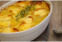 gratin de pomme de terre au fromage