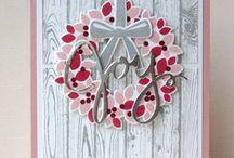 wondrous wreath / Magnifique couronne / Wondrous wreath / magnifique couronne de Stampin'Up