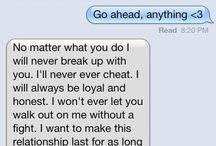 Cute Texts ♥