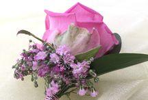 Amega Fleur Buttonholes / Beautiful buttonholes