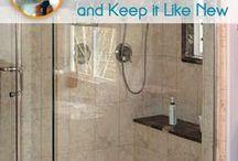 shower clean