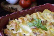 cartofi cu cașcaval si piept de pui