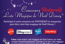 Liste Magique de Noël Disney   #NoelDisney / Créez votre board Liste Magique de Noël Disney, épinglez-y 20 produits maximum qui viennent de notre board « Liste Magique de Noël Disney ». Chaque jour un « cadeau du jour » est à gagner par tirage au sort. Le 21 Décembre, celui qui aura le plus de like sur son board « Liste Magique de Noël Disney » gagnera la totalité de son board. #NoelDisney