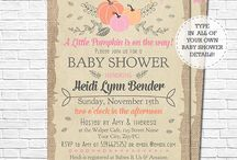 Fall Baby Shower Ideas / Ideas for your fall themed baby shower.