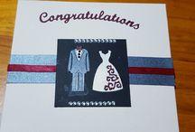 homemade wedding card
