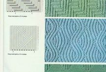 Knitted patterns