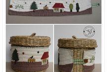 cestas forradas