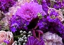 Purple Table Setting Inspiration