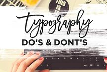 Typography tutorials tips and techniques