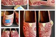 altered shoes / by Sarah Terry