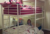 Girls room redo / by Nicole Bittermann