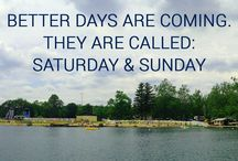 TGIF / I'm camping this weekend! How about you? #nsrcamping #naturalspringsresort