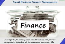 Small Business Finance Management / Finance management of a small business can be very challenging task. Small and private business owners need to have knowledge about every aspect of finance like managing cash flow, working capital management and analyzing long-term investments. The basic finance service package includes all of the necessary assessment that a business requires to reach its goal