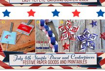 Happy 4th of July! / 4th of July recipes, decor, and so much more!