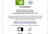 Free Energy Workshop in Greensboro / Greensboro and area residents, now is your opportunity to learn how to make your home more energy efficient and bring down those utility bills! Join us on March 5 at 1240 Price Park Drive in Greensboro from 6:30 to 7:45 p.m. / by E-Conservation Home Energy