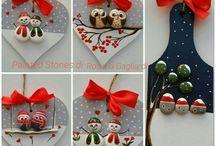 decorațiuni brad handmade