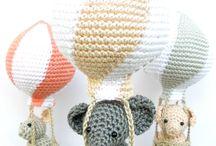 crochet baby mobile