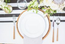 Wedding Place Settings / Wedding place setting ideas and inspiration