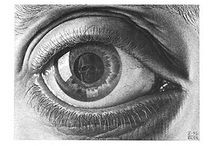 Year 8 Escher Eye