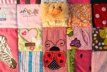 Patchwork / Crafts memory quilt