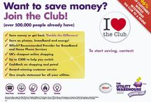 The Utility Warehouse / Its Simple with The Utility Warehouse Discount Club. Save Money and/or Make Money!