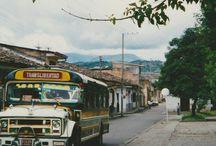 Buses antiguos de Popayán