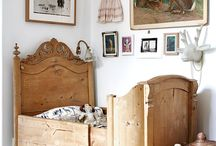 Natural Materials / Take inspiration from rustic bedroom textures with a natural interior theme this Summer.